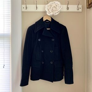 Michael Kors coat wool blend xs double breasted